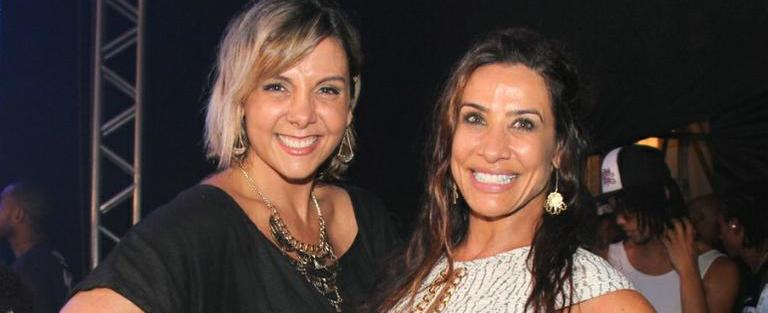 Scheila diz que era difícil manter contato com Carla Perez no Tchan