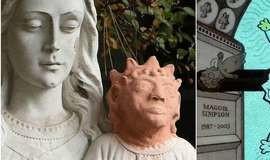Restauração deixa menino Jesus parecido com Maggie Simpson