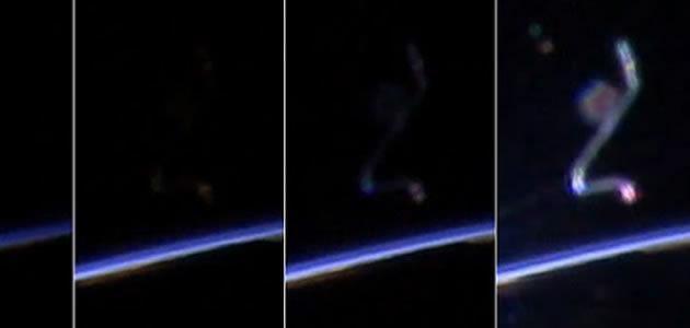 """NASA explica origem de """"OVNI"""" em transmissão do espaço"""
