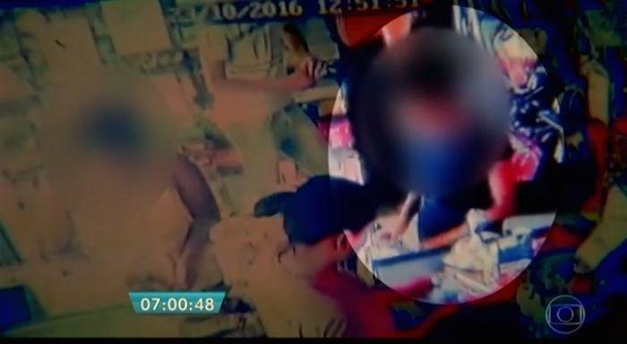Vítima foi vista pela última vez em supermercado (Crédito: Reprodução)