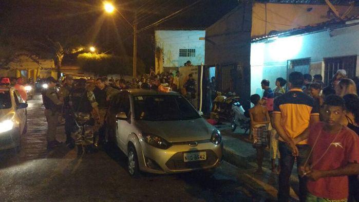 Local da apreensão (Crédito: Divulgação)