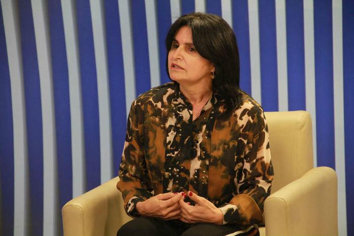 Prefeita Regina Coeli (Crédito: Ana Cláudia)