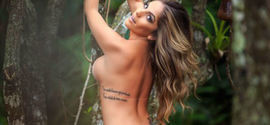 Anamara posa completamente nua para site e causa alegria de fãs
