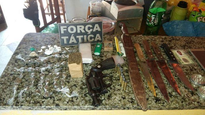 Material encontrado com Esdras Júnior da Silva Marques Pereira (Crédito: Divulgação)