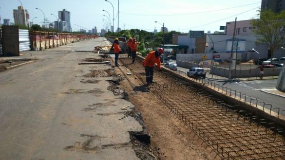 Obras na ponte Juscelino Kubitschek seguem na reta final (Crédito: Divulgação)