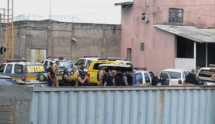 Cadeia Pública de Cornélio Procópio, no Paraná (Crédito: Reprodução)