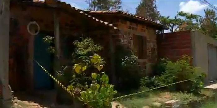 Casa onde o corpo foi encontrado (Crédito: Rede Meio Norte)