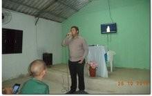 Cantor Elias se apresentou na Igreja Adventista do 7º Dia de Inhuma