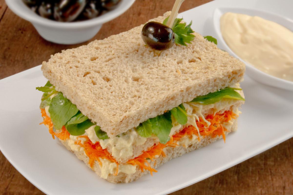 Receita Sanduiche Natural De Frango