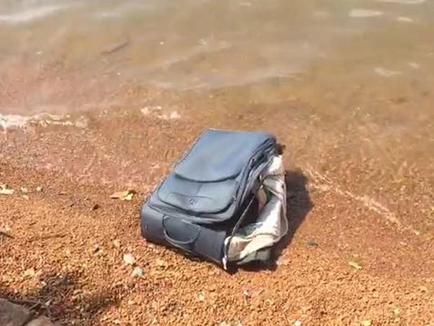Corpo encontrado dentro de mala em Brasília (Crédito:  Daniela Ramalho/TV Globo)