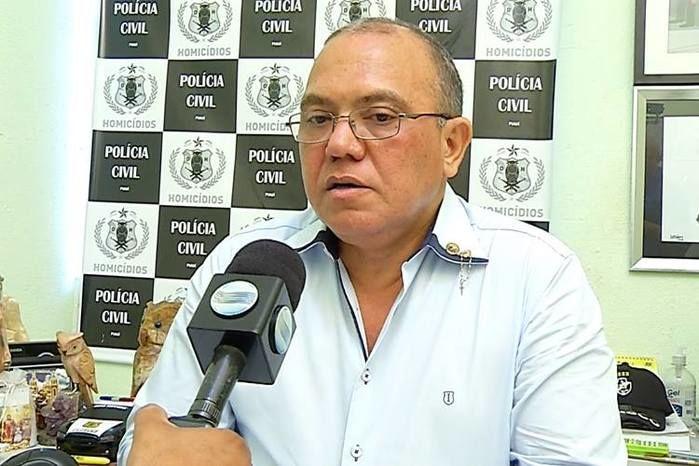 delegado titular, Francisco Costa (Crédito: Rede Meio Norte)