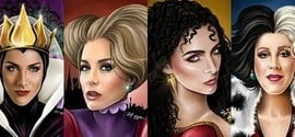 Famosas brasileiras são transformadas em vilãs da Disney