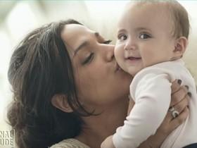 Beijar o rosto do bebê, faz mal a ele? Saiba no Canal Saúde!