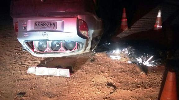 Veículo em que vinha  Benilco Soares de Sousa (Crédito: Reprodução)