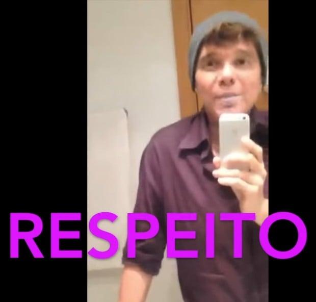 Netinho  (Crédito: Reprodução/ Snapchat)