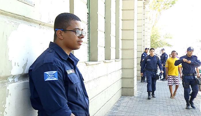 Guarda Municipal (Crédito: Reprodução)