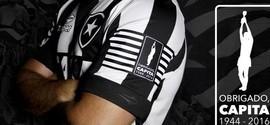 Em homenagem a Capita, Botafogo usará camisa especial contra Coxa