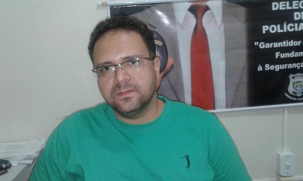 Walter Cunha, delegado Titular do 1º Distrito Policial de Floriano