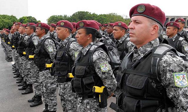 Força Nacional (Crédito: Reprodução)