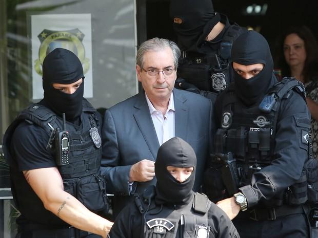 Prisão Eduardo Cunha (Crédito: Reprodução)