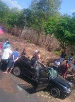 Jovem morre em grave acidente no Km 88, próximo a Barro Duro