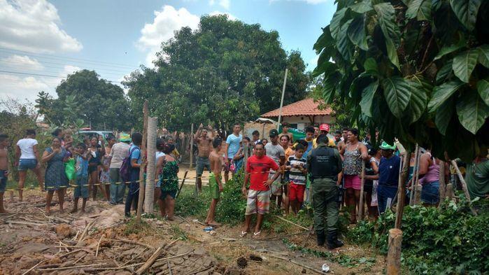 Local onde ocorreu a tentativa de assalto (Crédito: Divulgação)