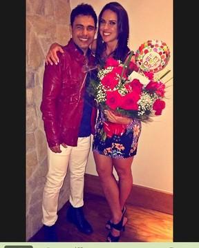 Zezé Di Camargo e Graciele Lacerda (Crédito: Reprodução)