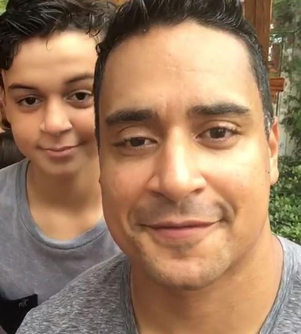 Xanddy com o filho Victor Alexandre (Crédito: Reprodução/ Instagram )