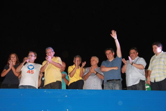 Comemoração da vitória do Firmino  (Crédito: Kelson Fontinele)