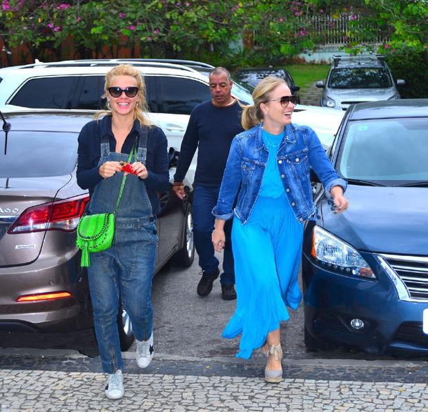 Carolina Dieckmann e Angélica (Crédito: WILLIAM ODA / AG NEWS )