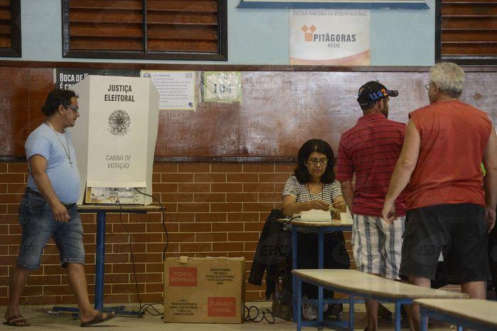Votação segundo turno no país (Crédito: Reprodução)
