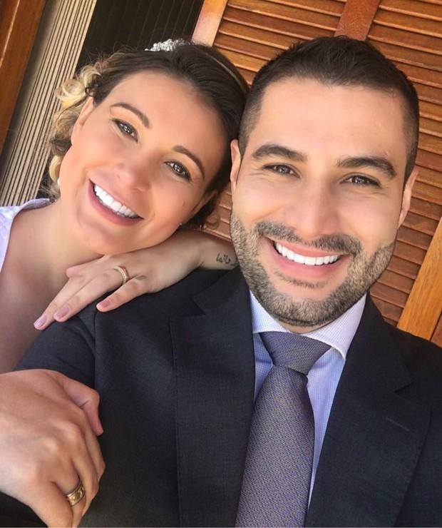 Casamento de Andressa Urach  (Crédito: Arquivo Pessoal )