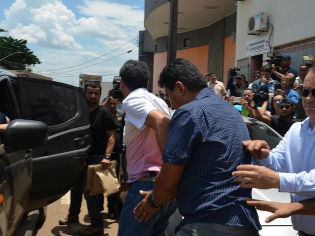 Delegado foi preso em flagrante (Crédito: Reprodução)