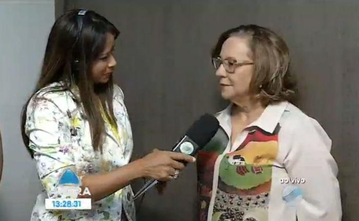 Diretora geral do Instituto Dom Barreto, Estela Rangel (Crédito: Reprodução)