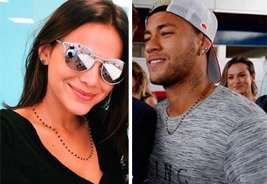 Neymar e Marquezine usam mesmo colar como aliança de compromisso