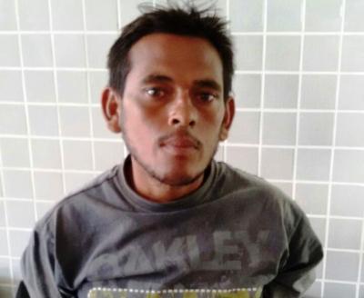 Acusado foi preso em Campo Maior (Crédito: Reprodução)