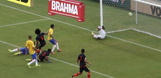 Jogo entre Brasil e Colombia  (Crédito: Reprodução)