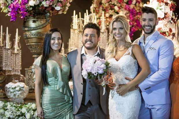 Casamento de Gusttavo Lima e Andressa Suita (Crédito: Divulgação)