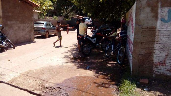 Assalto a posto de lavagem em José de Freitas