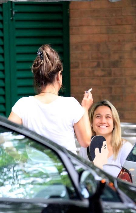 Fernanda Gentil é fotografada pela primeira vez com a namorada (Crédito: Thiago Martins)