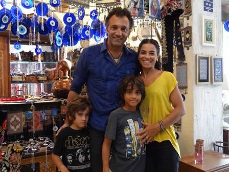 Família de Domingos Montagner (Crédito: Reprodução)