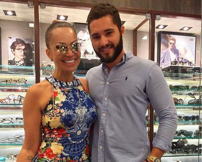Sol Almeida e Monilton Moura (Crédito: Reprodução/ Instagram )