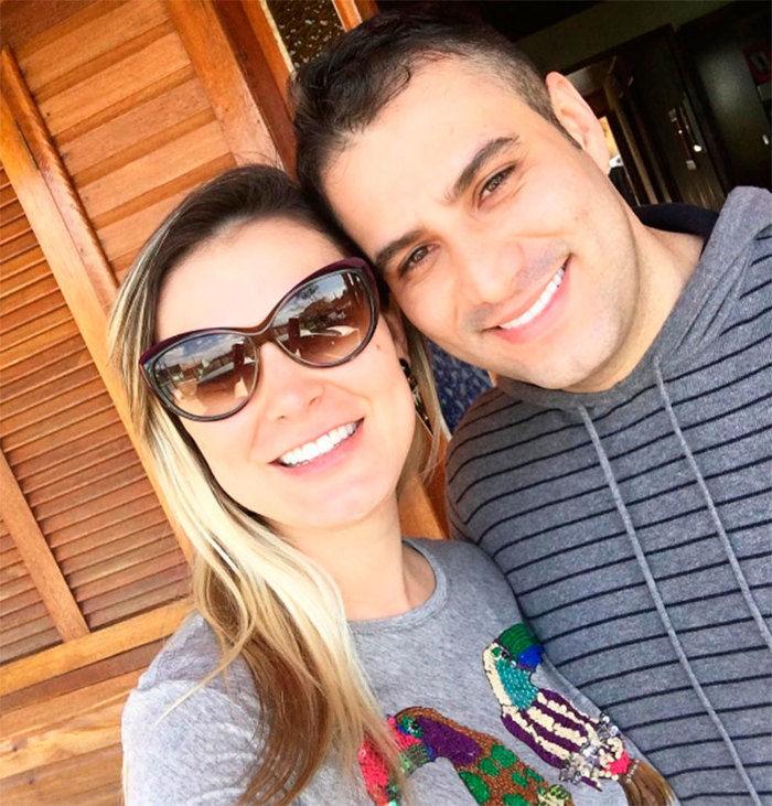 Tiago Costa e Andressa Urach (Crédito: Reprodução/ Instagram)