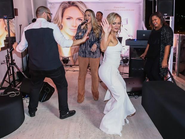 Eliana dança funk durante festa em sua cobertura luxuosa (Crédito: Manuela Scarpa/Brazil News)