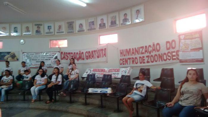 Câmara de Picos aprovou castração (Crédito: Riachão Net)