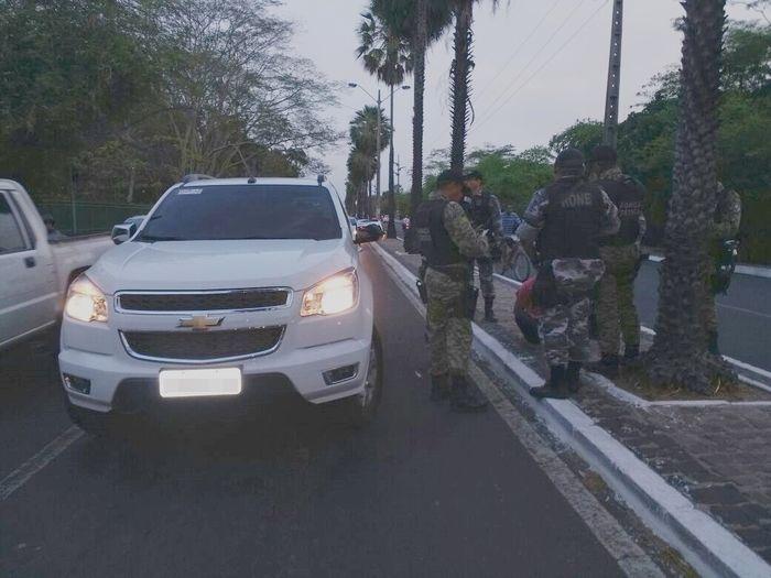 Veículo roubado por Ígor Araújo de Souza (Crédito: Divulgação)