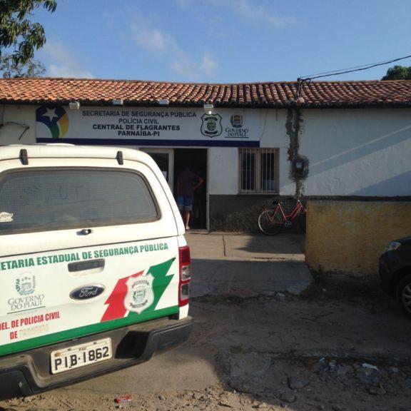 Central de Flagrantes em Parnaíba (Crédito: Portal do Catita)