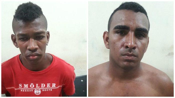 Acusados foram presos após comparsas repassarem informações à polícia (Crédito: Reprodução)
