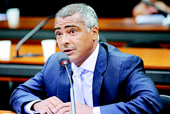 Senador Romário (Crédito: Divulgação)
