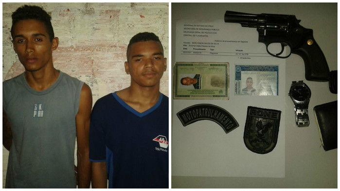 Acusados presos no Dirceu Arcoverde (Crédito: Reprodução)